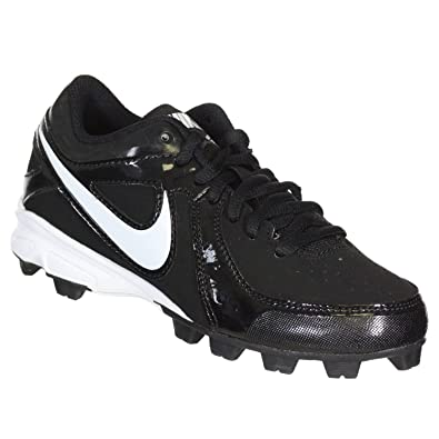 pretty nice 41e80 7ab06 NIKE Mens MVP Keystone Low Baseball Cleats - Size  6.5, Black white