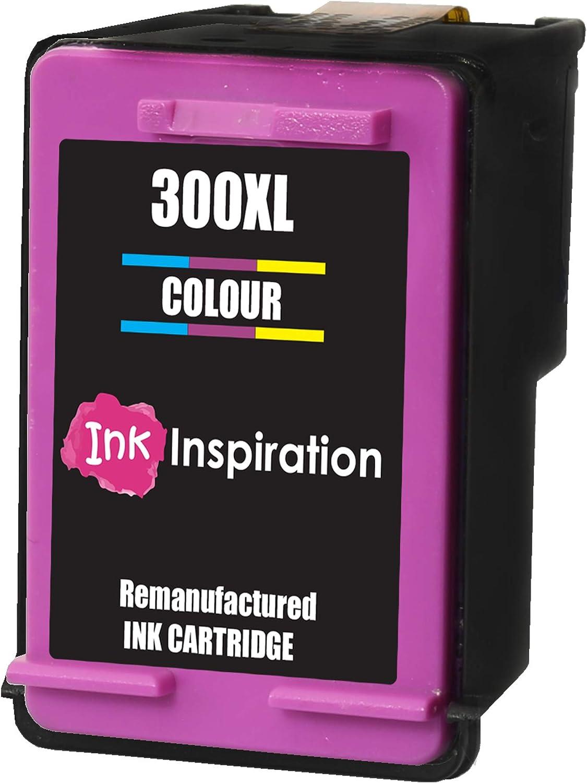 Tricolor INK INSPIRATION® Cartucho de Tinta Remanufacturado para HP 300 300XL Deskjet D1660 D2530 D2545 D2560 D2660 D5560 F2420 F2480 F4210 F4240 F4272 F4280 F4580 F4583 Photosmart C4780 C4680: Amazon.es: Electrónica