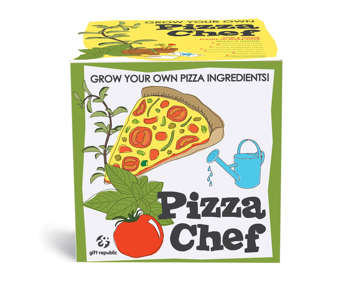 Gift Republic Sow and Grow Pizza Chef GR120012