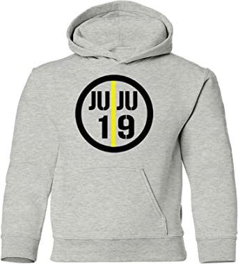 Tobin Clothing Black Pittsburgh Juju Text Pic Hooded Sweatshirt