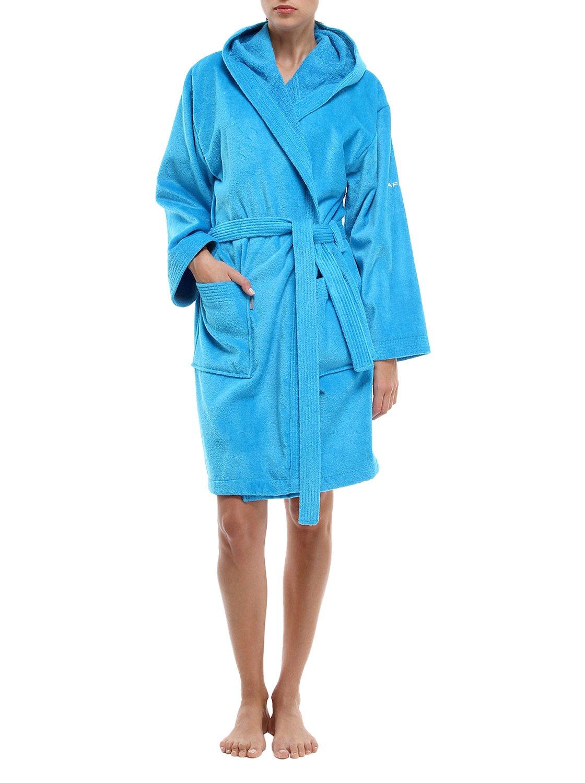 Naf Naf C03Velour Colors Bademantel airhostess Blue, Airhostess Blue, xx-large