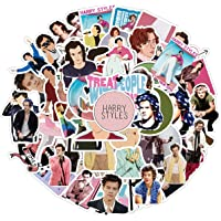 Singer Shawn Mendes Stickers 50PCS for Laptop and Water Bottles,Waterproof Durable Trendy Vinyl Laptop Decal Stickers Pack for Teens, Water Bottles, Computer, Travel Case Harry Styles WL053