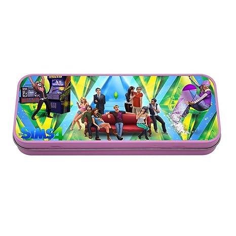 Tienda £ Save personalizado los Sims 4 Color rosa Metal lata ...
