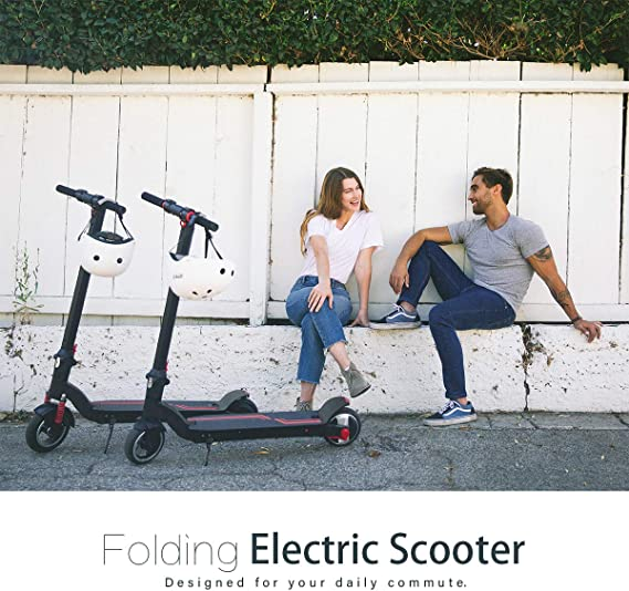 Amazon.com: XPRIT - Patinete eléctrico con amortiguadores de ...