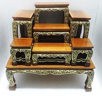 Amazon.com: Design by UnseenThailand Set Of Altar Table, Thai Buddha ...
