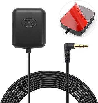 Bingfu Vehículo Coche Dash CAM Antena GPS Activa Conector de Audio 3.5 mm para Coche Ccamión SUV Parabrisas Espejo Dash CAM Dash Camera Vedio ...