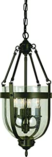 product image for Framburg 1014 MB 4-Light Hannover Mini-Chandelier, Mahogany Bronze