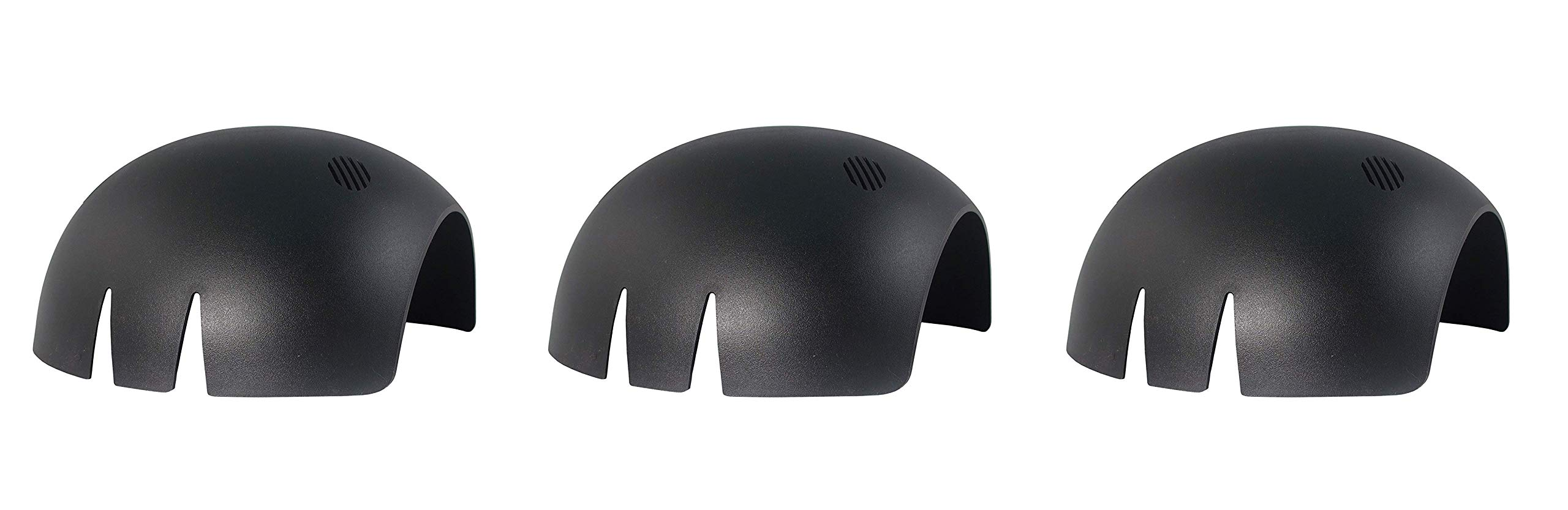 ERB Safety Products 19404 Create a Cap Shell without Foam Pad, Size: 6 1/2-8, Black (Тhrее Pаck)