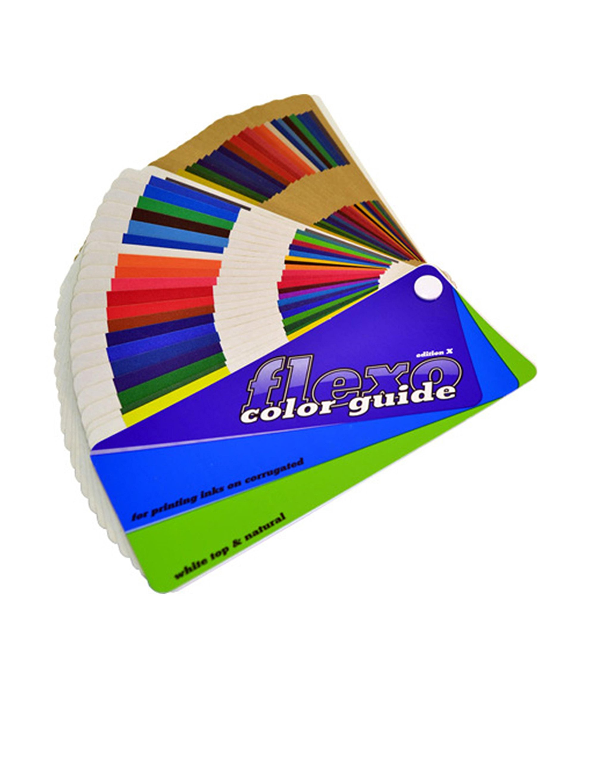 Flexo Color Guide for Printing Inks on Corrugated - New Edition X