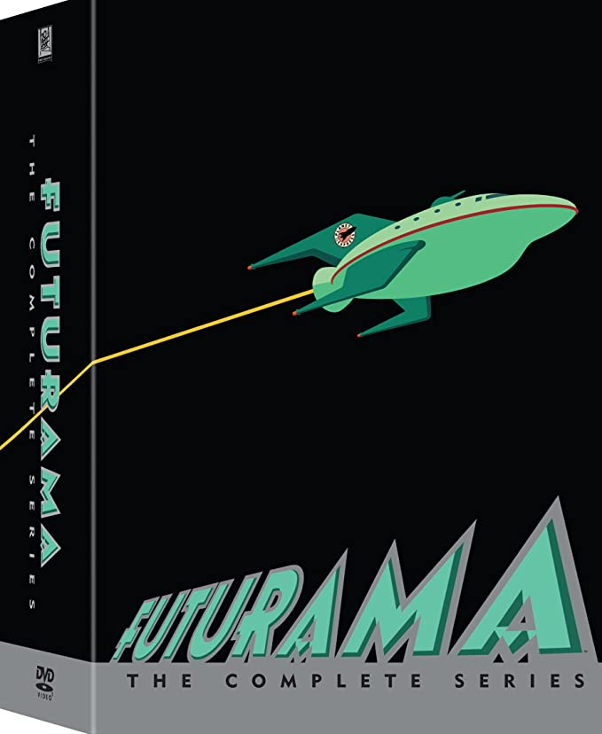 Futurama Complete Collection Seasons 1 8 by Amazon