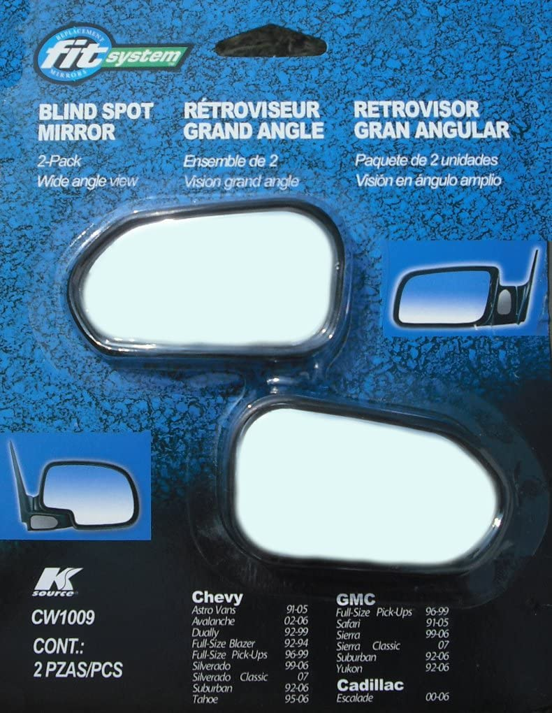 Pair Fit System CW1000 Custom Spot Mirror with Optical Blue Lens