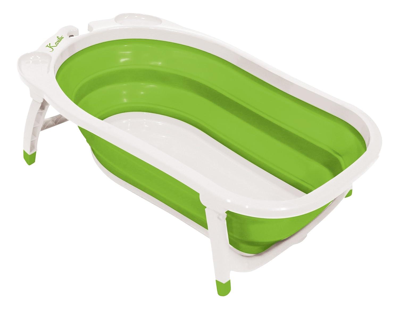 Amazon.com : Karibu Baby Folding Bath, Green/White (Discontinued ...