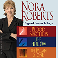 Nora Roberts The Sign of Seven Trilogy book cover