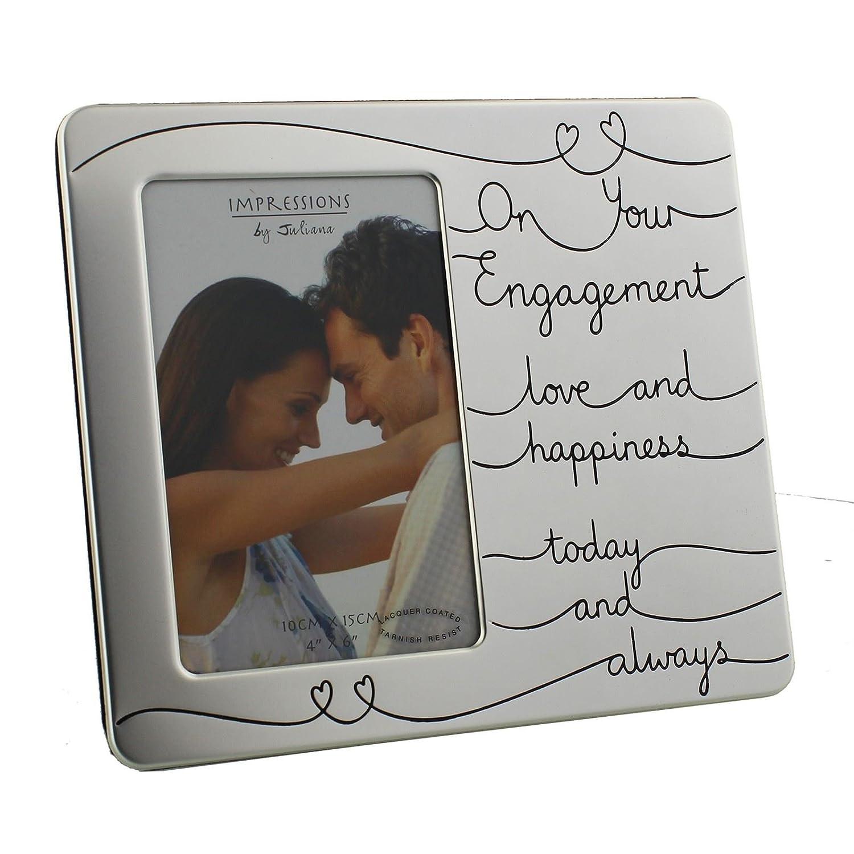 Impressions by Juliana Bilderrahmen – On Your Engagement – 10,2 x 15 ...