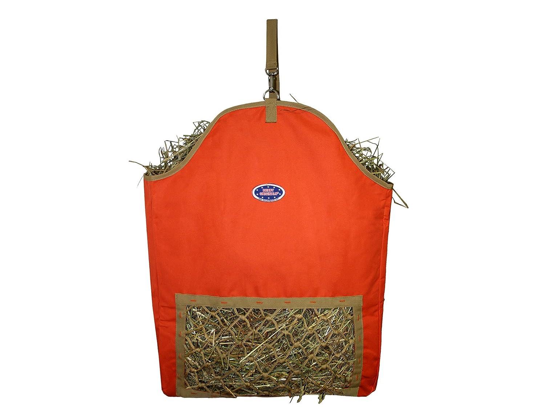 orange Derby Originals Fiesta Slow Feed Nylon Hay Bags