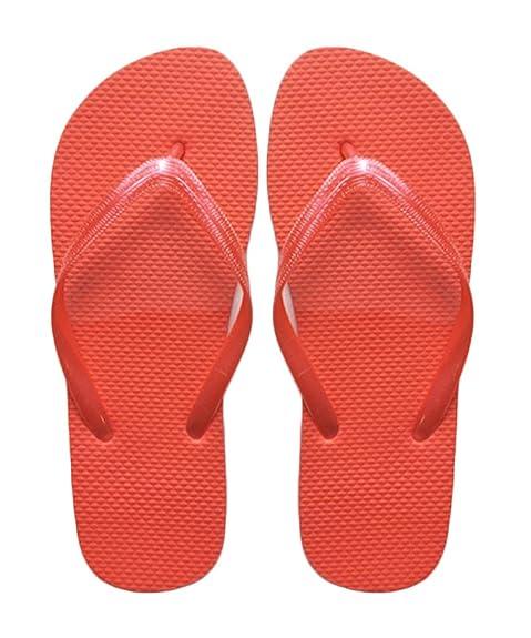 cc54ed48bd372f SUGAR ISLAND® Unisex Ladies Girls Mens Summer Beach FLIP Flop Pool SHOES -RED-