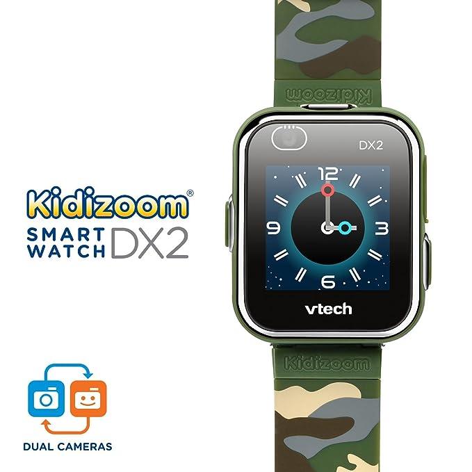 Amazon.com: VTech Kidizoom Smartwatch DX2, Camouflage ...