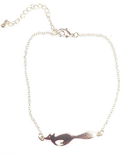 super populaire 69a45 ef370 Bracelet-renard: Amazon.fr: Bijoux