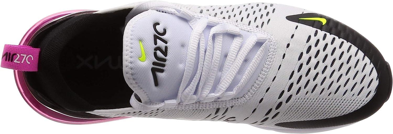 Nike Herren Air Max 270 Leichtathletikschuhe Mehrfarbig White Volt Black Laser Fuchsia 109