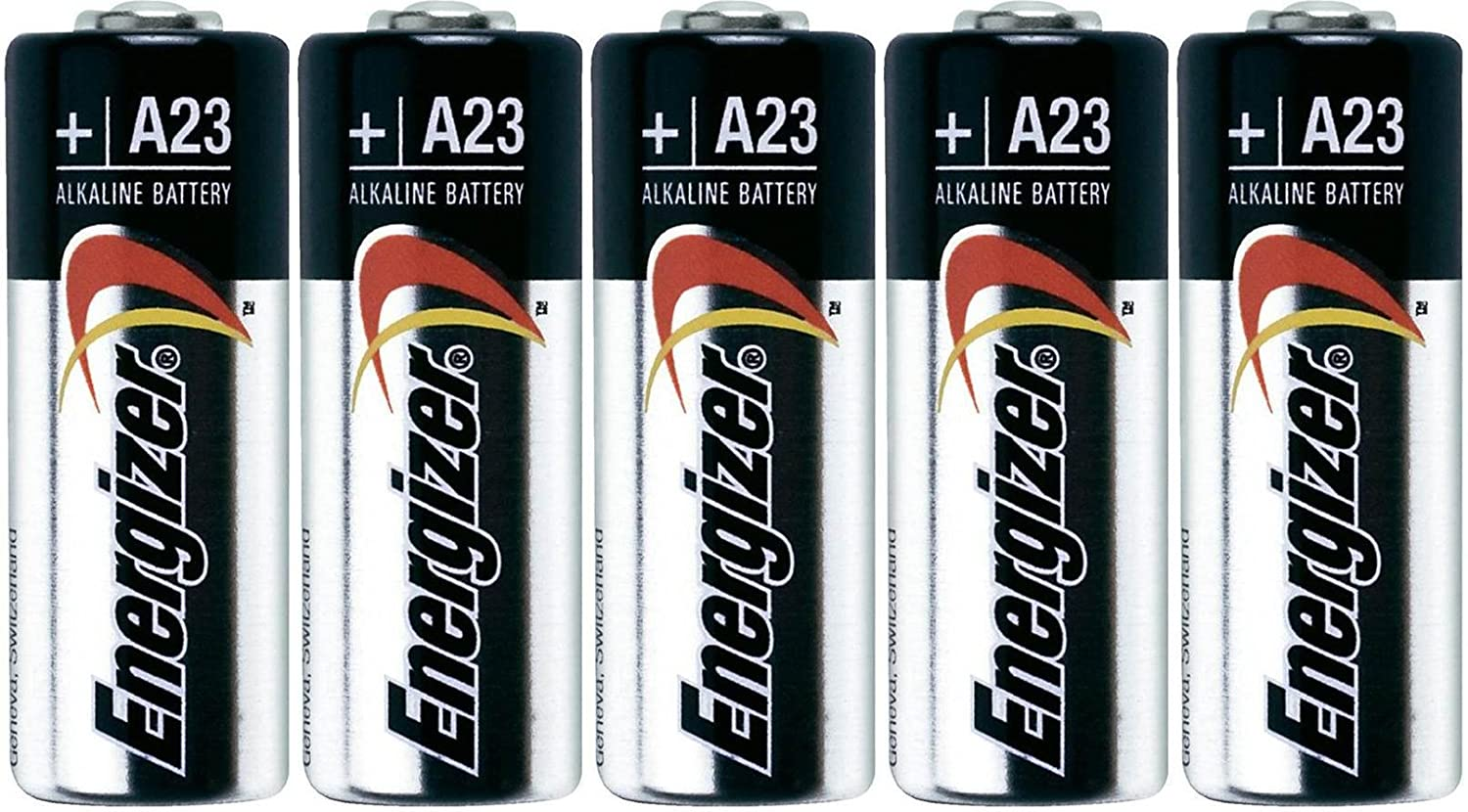 5 Energizer A23 GP23AE 21/23 23A 23GA MN21 GP23 23AE 12v Alkaline Batteries Energizer Batteries No Model