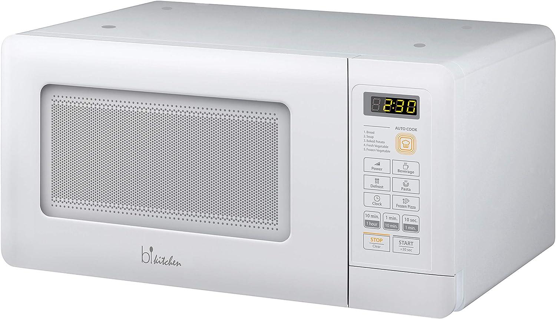 bkitchen Mini 200 - Microondas Compacto con función de ...