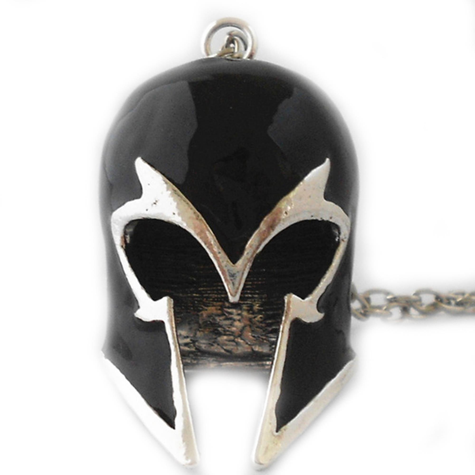 J&C Family Owned 18'' Marvel Comics Magneto Helmet Logo Necklace in Gift Box