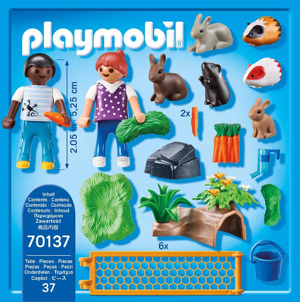 Multicolor Playmobil 70137/Country Animales Peque/ños en freigehege