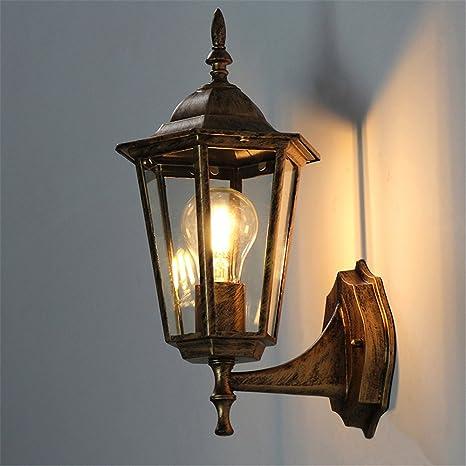 Moderne Applique LED Villa porte lumière extérieure rétro