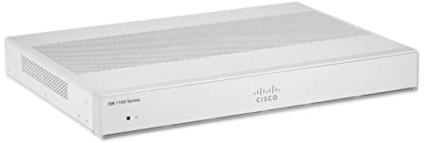 Integrated Services Router 1118, GigE, 4 Port Switch, 4 GB, 4 GB ...