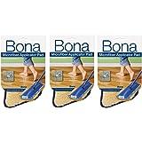 3 Pack Bona Microfiber Applicator Pad