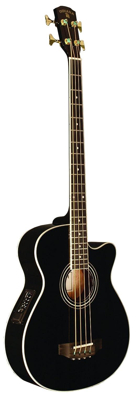 INDIANA Scout Bass SC-ABBK 4-Strings Acoustic Bass Guitar - Black