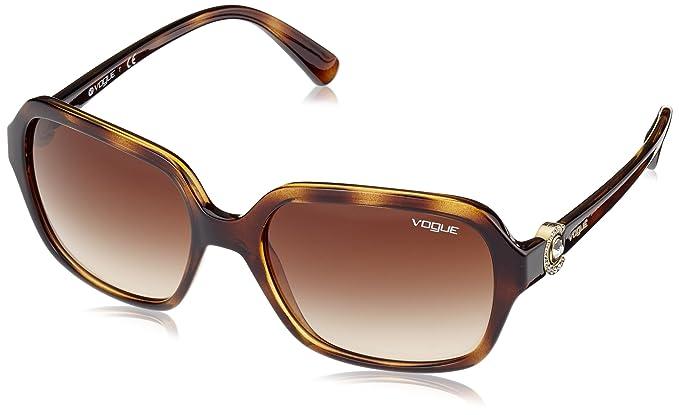 Vogue 0Vo2994Sb, Gafas de sol para Mujer, Dark Havana 57 ...