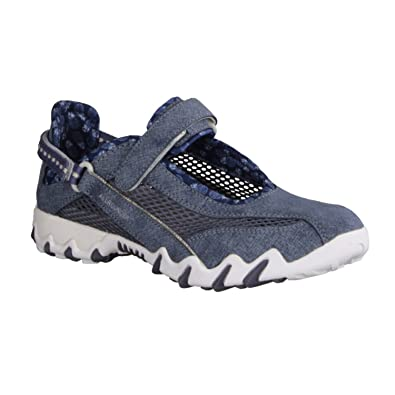 Chaussures Allrounder By Mephisto bleues femme 6ESfNd7i