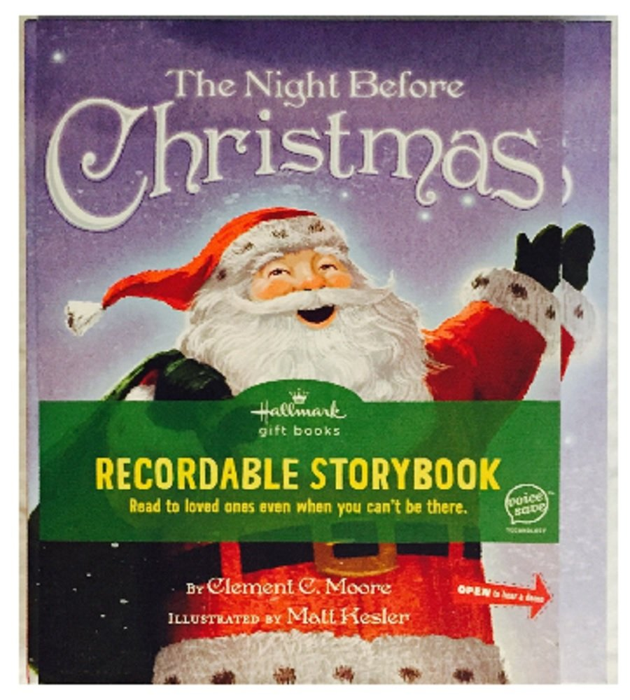KOB9101 All I Want for Christmas Disney Recordable Storybook Special Hallmark Edition Hard Cover Book Hallmark Gift Books Recordable Storybook
