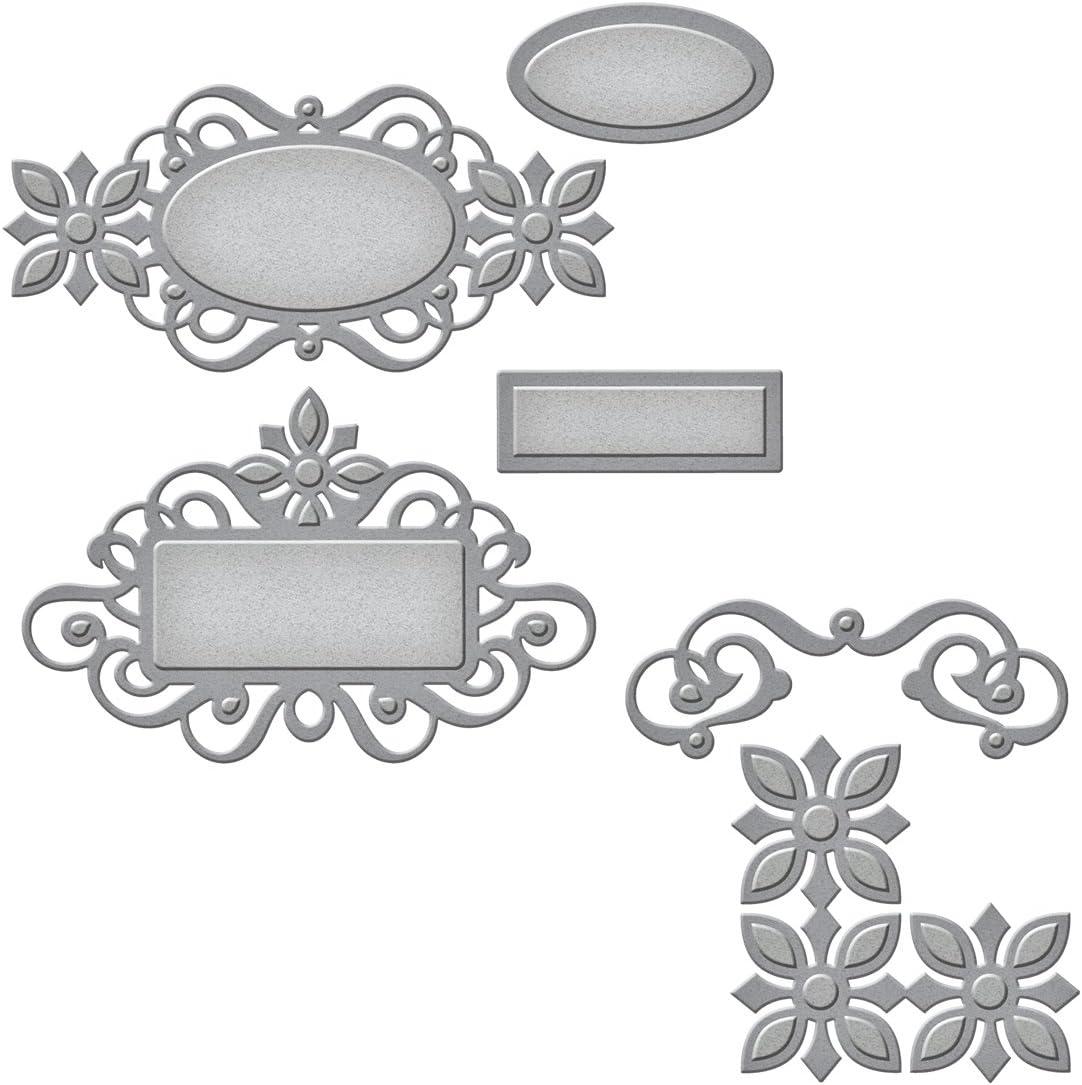 Spellbinders Shapeabilities Troqueles Renacimiento Etiquetas 2