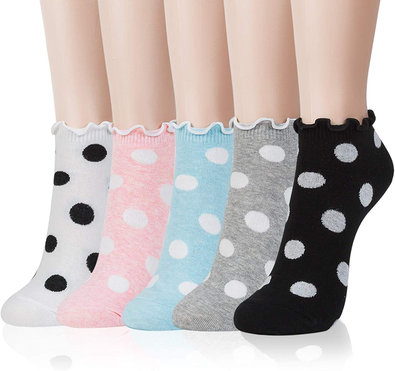 Kikiya Socks Women's Cute Ankle Socks
