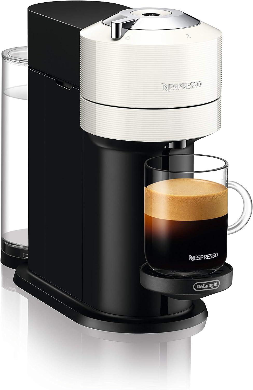 DeLonghi Nespresso Vertuo Next ENV 120.W - Cafetera de cápsulas, color blanco: Amazon.es: Hogar