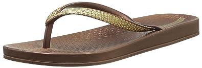 Ipanema Metallic II Damen Flip-Flops Strand Sandalen Bronze Gold 81158