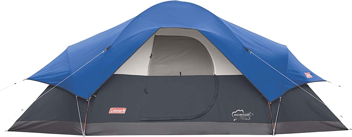 Coleman 8-Person Tent for Camping   Red Canyon Car Camping Tent