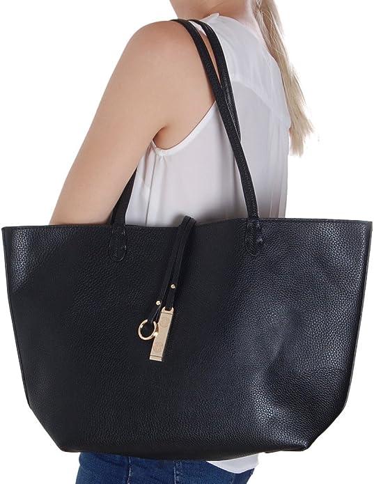 Tote Bag for Women St Patricks Day Shamrock Heart Large Utility Shoulder Handbag Top Handle