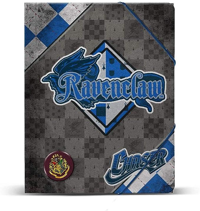 KARACTERMANIA Carpeta A4 Harry Potter Quidditch Ravenclaw gomas: Amazon.es: Oficina y papelería