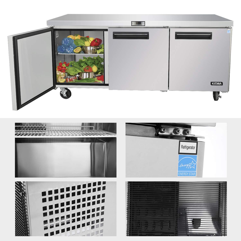 Refrigeradores comerciales para debajo del mostrador - KITMA ...