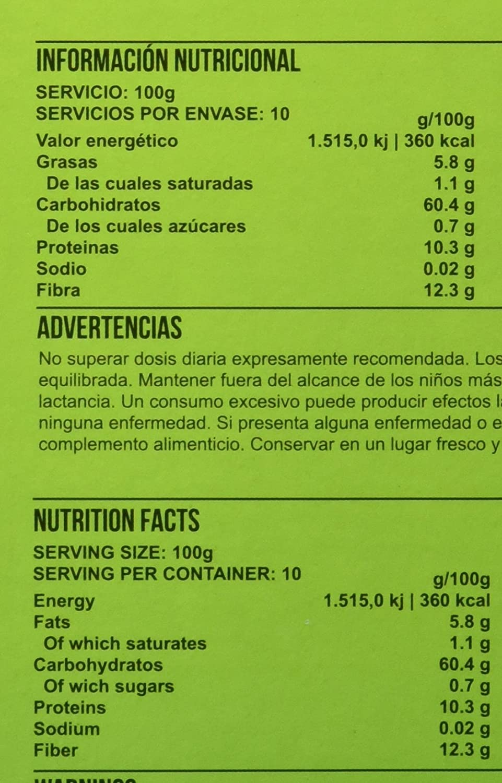 Big Man Nutrition Instant Oatmeal Suplemento de Carbohidratos ...