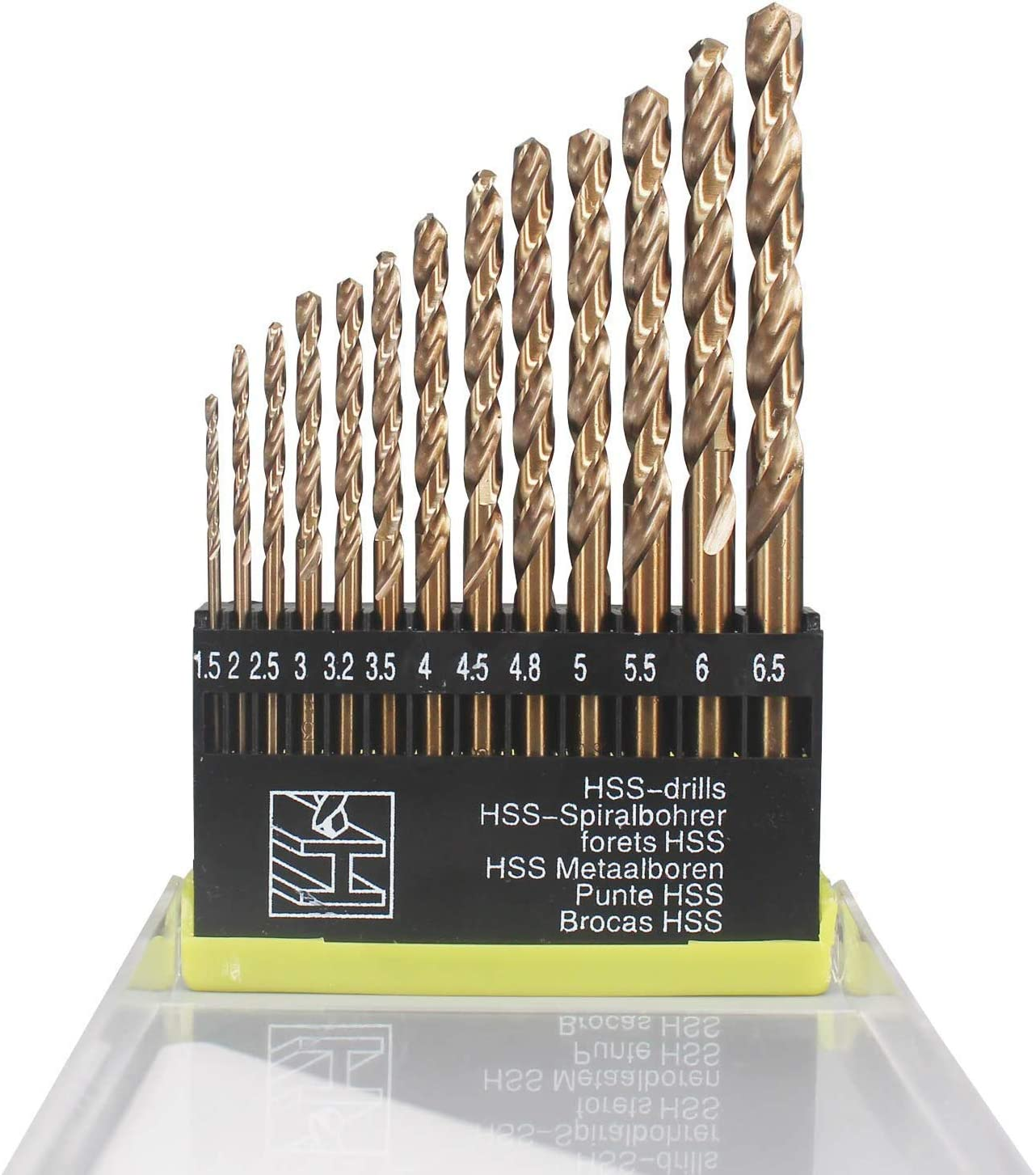 Extremely Heat Resistant Twist Drill Bits