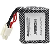 Hosim RC Cars Replacement Battery, 800mAh Li-ion Rechargeable Battery for Hosim 9112 9123 9123 RC Truggy High Speed Truck Accessory Supplies (3rd Version)