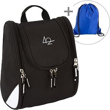 42 travel hanging toiletry bag u2013 large kit organizer for women u0026 men u2013 spacious u0026