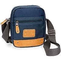 Pepe Jeans Beckers Blue Shoulder Bag