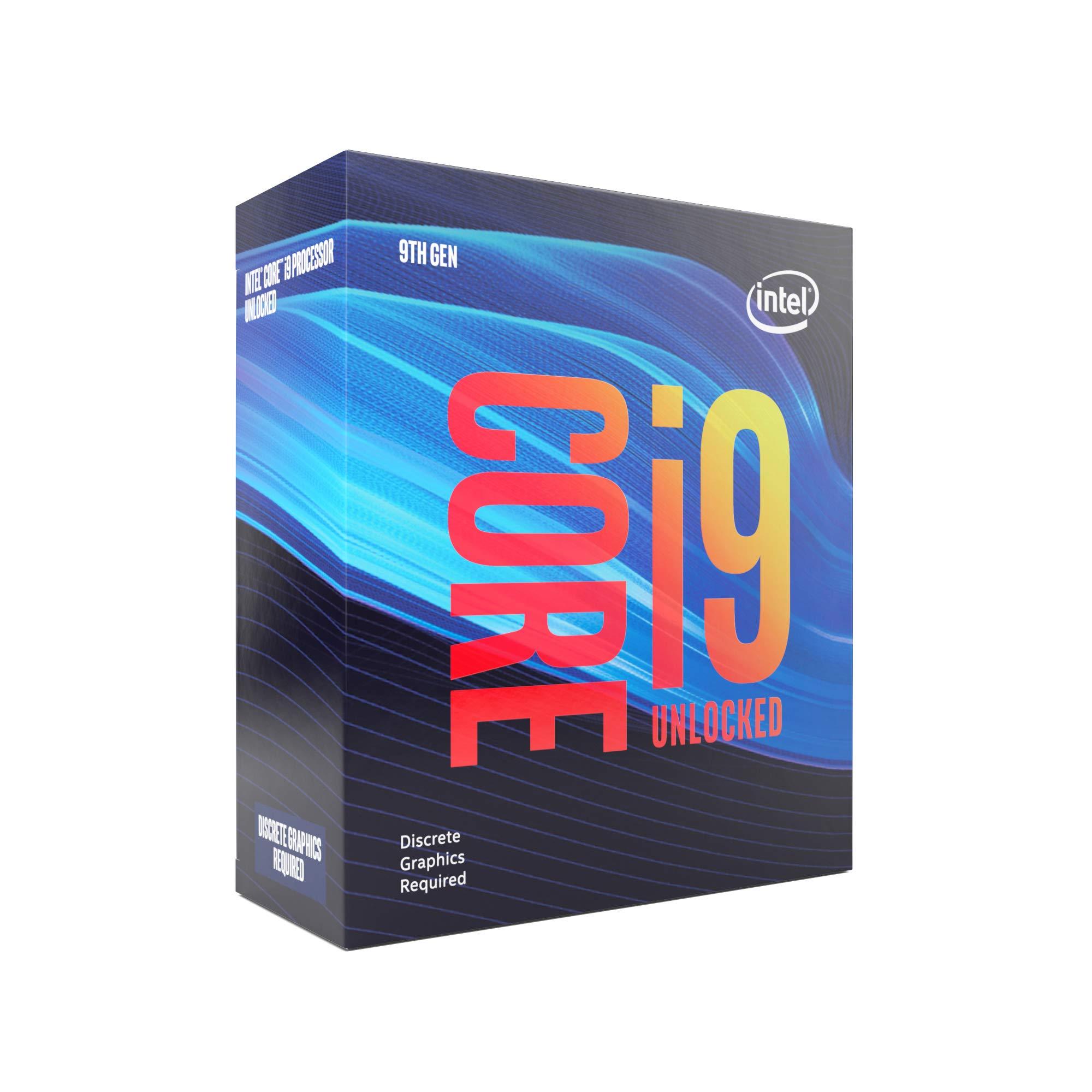 Intel BX80684I99900KF Intel Core i9-9900KF Desktop Processor 8 Cores up to 5.0 GHz Turbo Unlocked Without Processor Graphics LGA1151 300 Series 95W