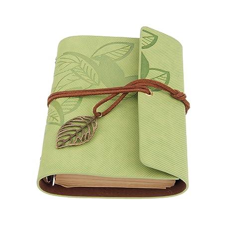 1Pieza), sueltas en blanco Cuaderno Papelería agenda Vintage ...