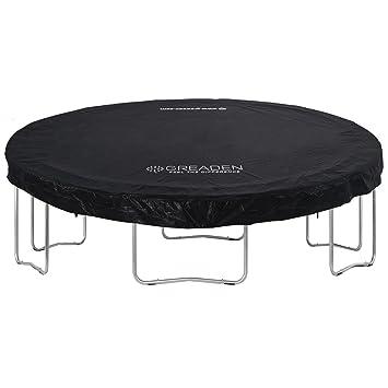 GREADEN Funda de PVC Negro para la Cama Elástica Freestyle 360 cm ...